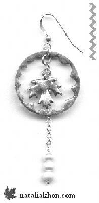 Pendant: maple leaf