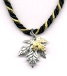 Golden Maple Fall Necklace